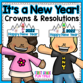 New Years 2017 Crowns, Printables and New Years Resolutions 2017