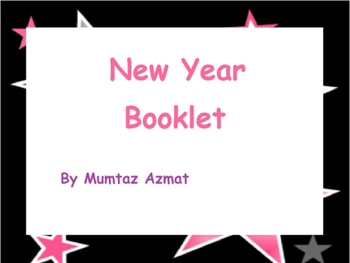 New Year  Booklet: