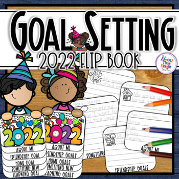 New Years 2017 - flip book - goal writing and craft activity