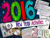 New Year Activities 2016 Edition