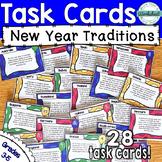 New Year Around the World {Creative Thinking Task Cards}