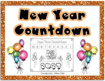 New Year Countdown 2017 Freebie