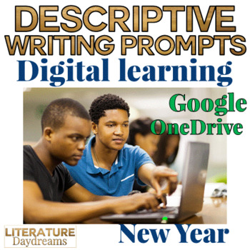 Creative Writing Digital Learning pack: New Year