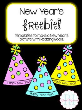New Year Freebie Reading Goals