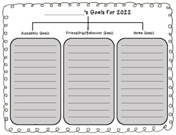 New Year Goal Setting Tree Map FREEBIE: 2014