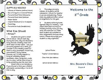 New Year Information Brochure