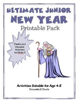 New Year Junior Printable Pack