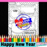 New Year Activity Poster