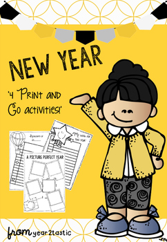 New Year Print and Go Booklet {year2tastic}