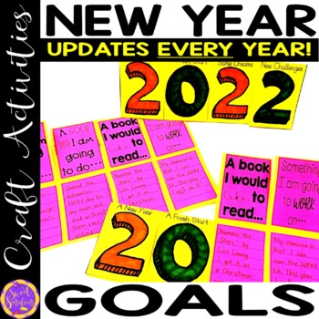 New Year's Resolution Flap Book