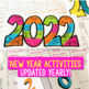 New Year's 2017 Resolution Goals Activities