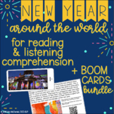 New Year Traditions Around the World {responding to non-fi