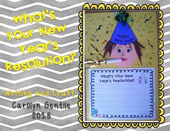 New Year - What's Your New Year's Resolution?  Writing and Craft