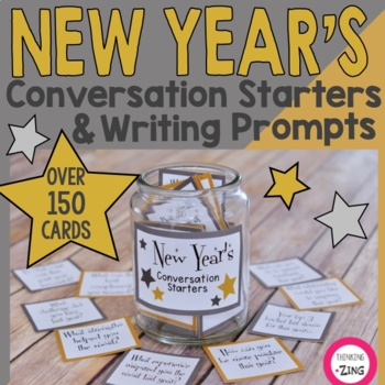 New Year's Conversation Starters & Writing Prompts