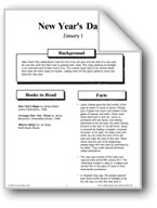 New Year's Day: Making Books