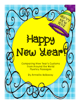 New Year's Fluency Passages and AssessmentsUPDATED