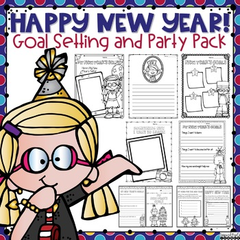 New Year's Goal Setting and Party Pack