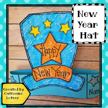 New Year's Hat Art Project