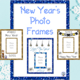 New Year's Photo Frames