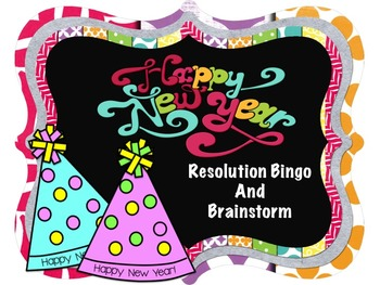 New Year's Resolution Bingo and Brainstorming