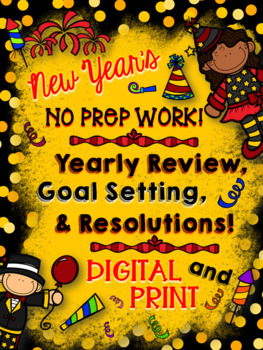 New Year's Resolution: NO PREP Reflection, Goal Setting, &