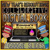 New Year's Resolutions Digital Book in Google Slides