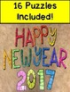 New Year's Subtraction Puzzles