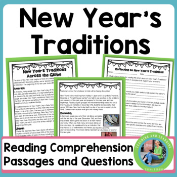 New Year's Traditions Across the Globe {Informational Text