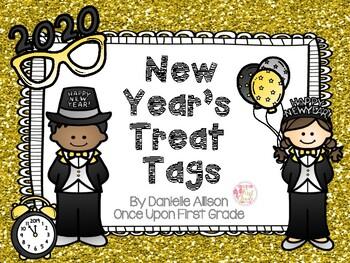 New Year's Treat Topper Tags FREEBIE