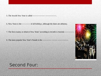 New Year's Trivia Quiz