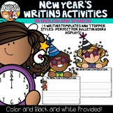New Year's 2017 Writing Activities-In English and Spanish