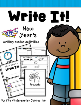 New Year's Writing Center Activities