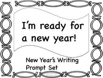 New Year's Writing Prompt Set w/Checklist
