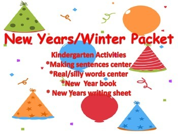 New Year/Winter Activity Pack