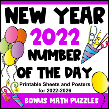 New Years 2017: New Year Activity Number of the Day