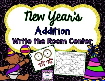 New Year's Addition Write the Room
