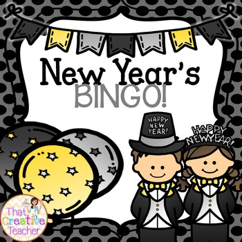 New Year's BINGO!