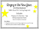 New Years Bulletin Board Set and Writing Assignment.  Ring