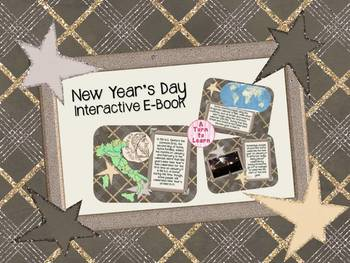 New Year's Day Interactive E-Book