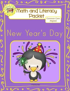 New Years Day Worksheets Emergent Reader Task Cards