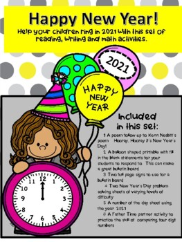 New Year's Day Printables