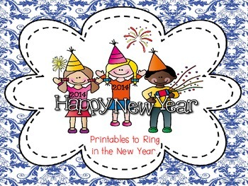 New Year's Eve/Day Printables
