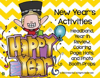 New Years Freebie Activities!