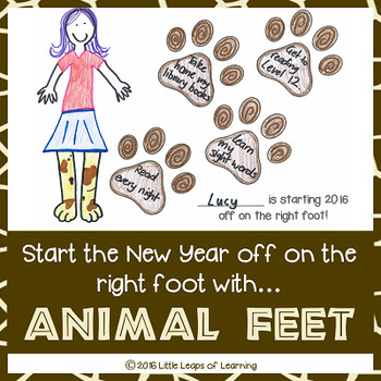 New Years Goal Setting Activity: Start the year off on the