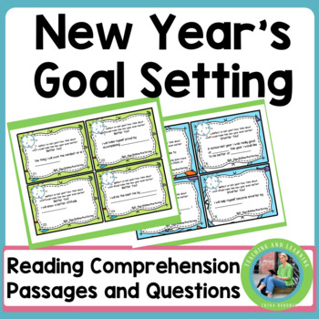 New Year 2016 Goals (Task Cards)