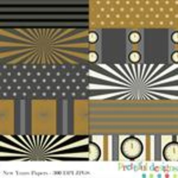 New Years Paper Pack