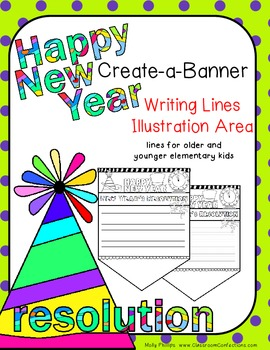 New Year's Resolutions Activity: banner