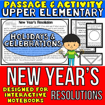 New Year's Resolution: Reading Passage and Questions: Inte