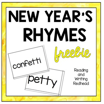 New Year's Rhyme Match