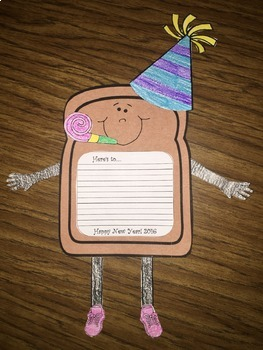 New Years Toast Writing Activity